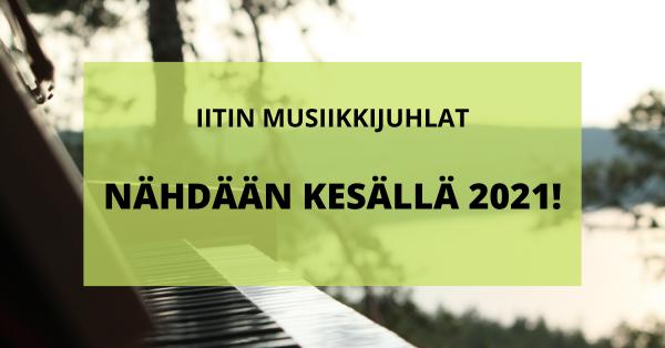 Iitin Musiikkijuhlat 2021